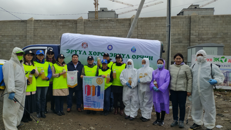 A Green Note from Mongolia – Environmental Projects Update, By Rotary Club of Selbe
