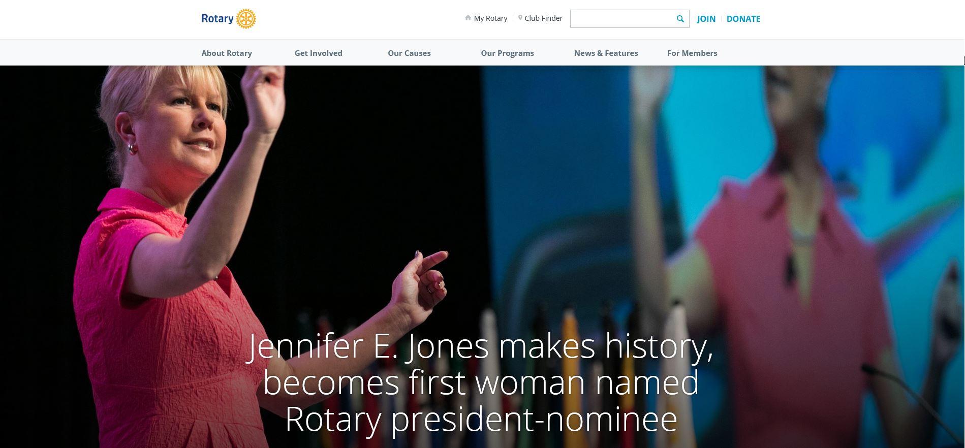 Holger Knaack declares Jennifer Jones president-nominee