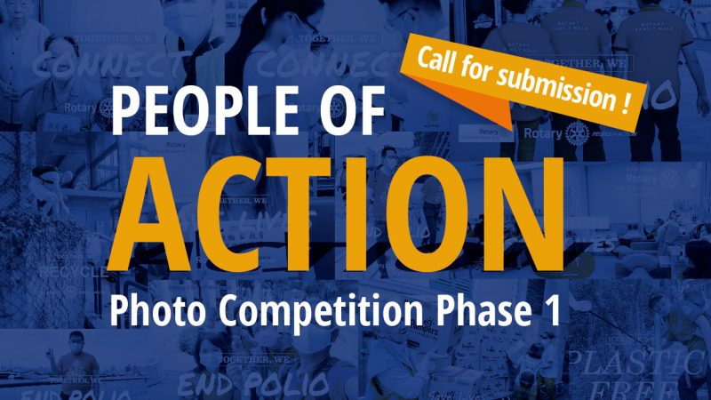 People of Action Photo Competition Phase 1 – Call for submission ! By District PI Committee 2020 – 21