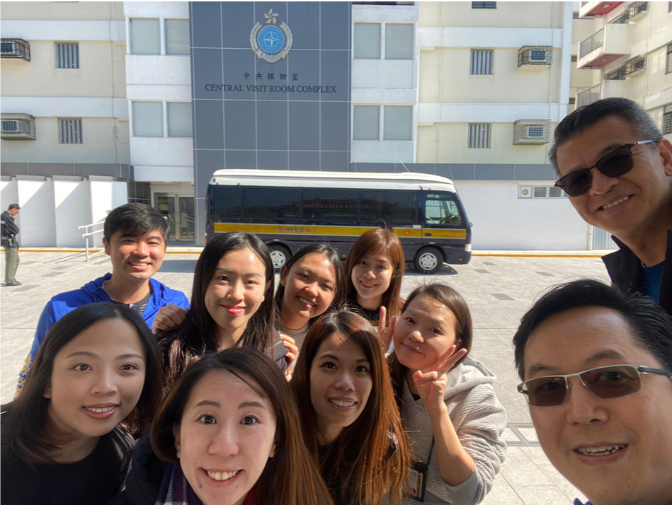 Rotary Connects Rehabilitation Project, By RC of New Territories 「扶輪連繫更新計劃」新界扶輪社供稿