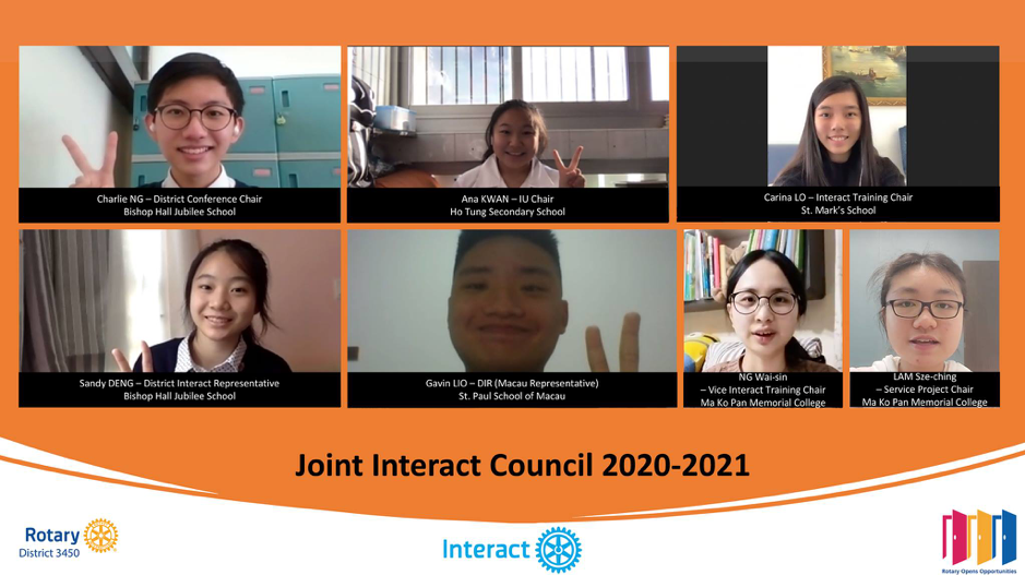 Joint Interact Council Established, updated by CP Joseph Leung, District Interact Committee Chair