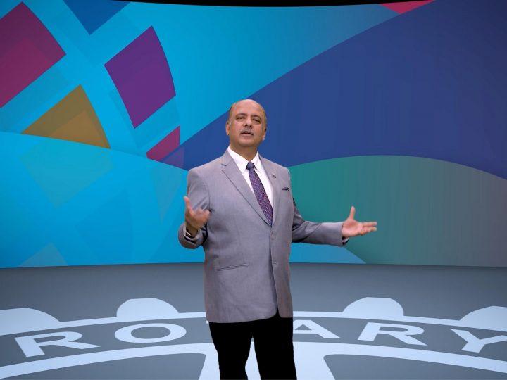 RI President-elect Shekhar Mehta announced 2021-22 presidential theme
