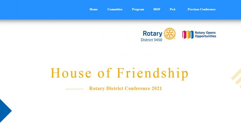 Rotary International District 3450's 61st District Conference is at the corner!