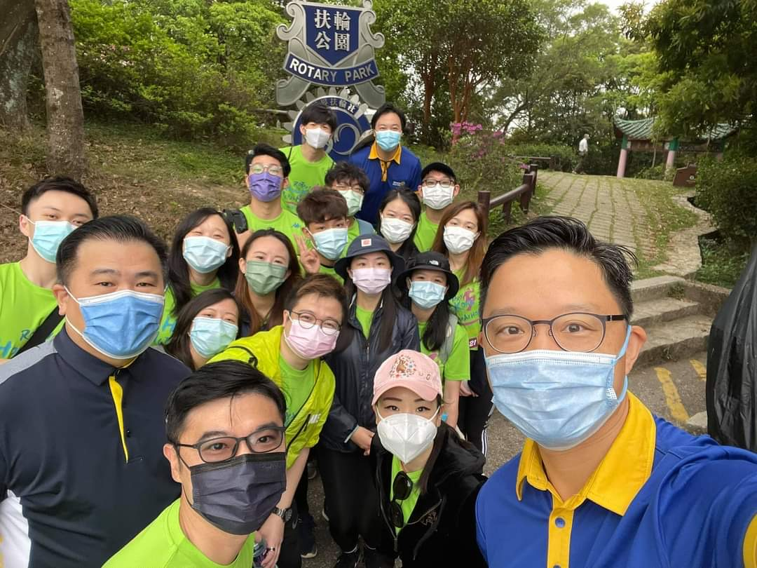 Rotary Club of New Territories fully supported 2020-21 Rotary HK UltraMarathon staged by RID 3450