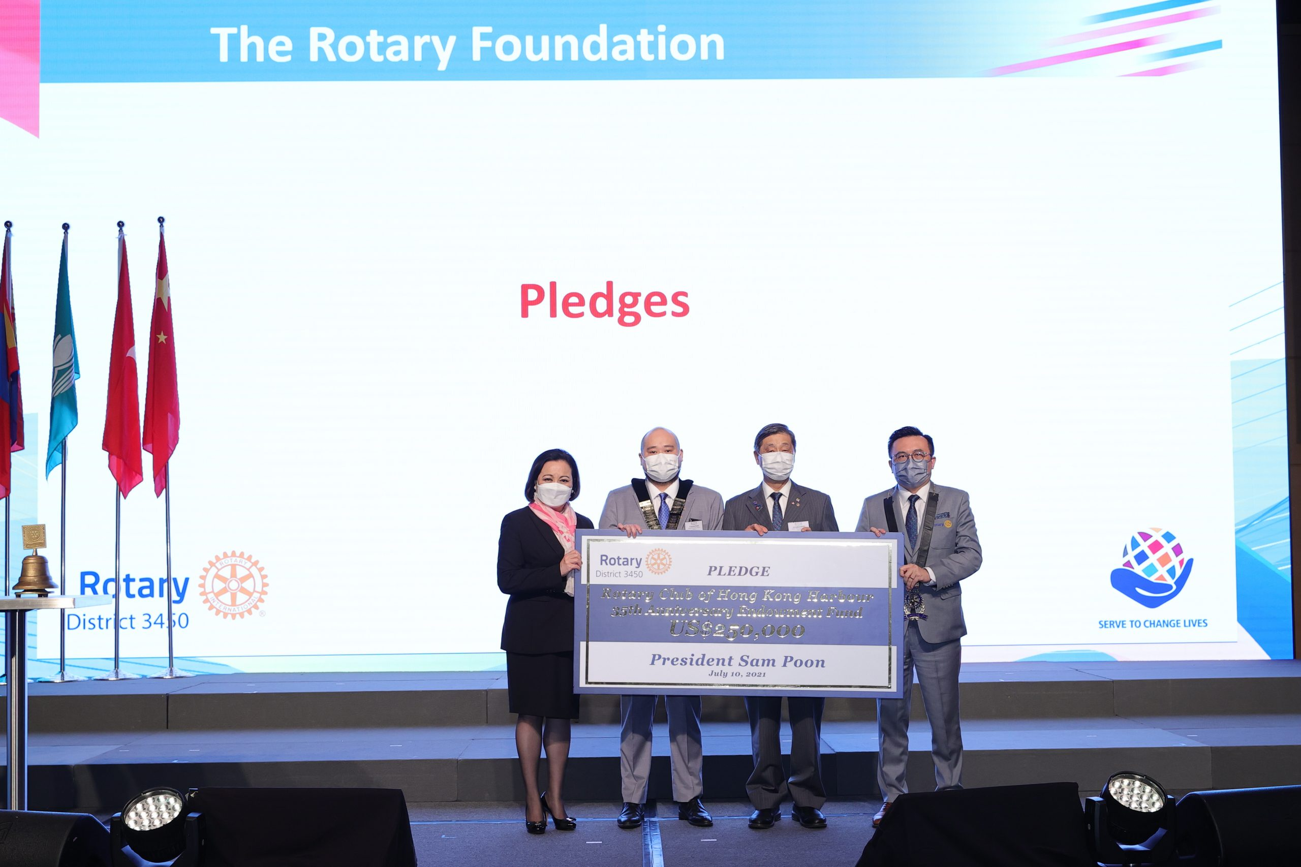 DISTRICT ROTARY FOUNDATION COMMITTEE 2021-22